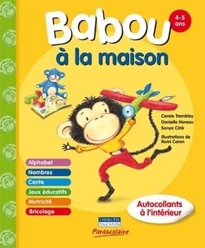 Livre en ergothérapie pédiatrique Babou à la maison par Sonya Côté