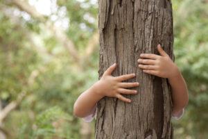 La stabilité de l'axe corporel des enfants