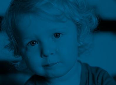 Enfant souffrant d'anxiété